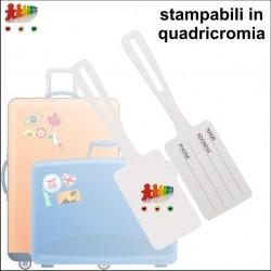 Etichetta per bagagli in...