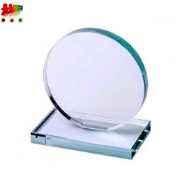 Trofeo in vetro di forma...