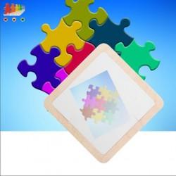 Puzzle in plastica con...